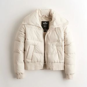 Hollister Faux Fur Lined Puffer